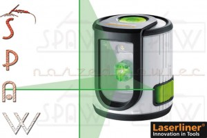 Laserliner Easy-Cross Laser GREEN - niwelator liniowo-krzyżowy