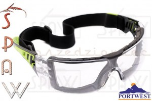 Okulary ochronne Portwest PS11 - Tech Look Plus